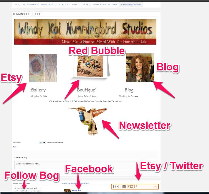 new website snapshot