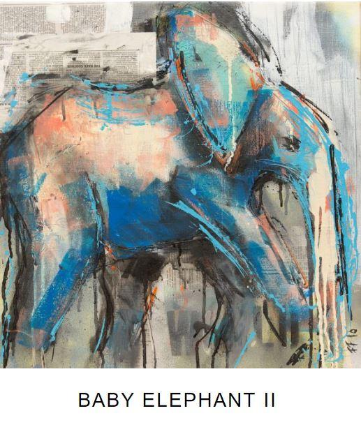 baby elephant II frank