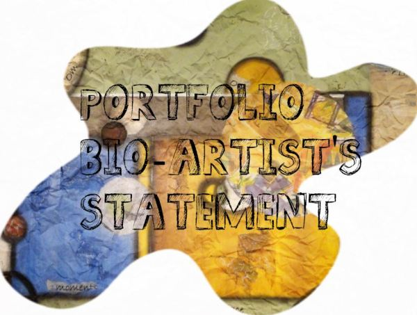 BIO ARTISTS STATEMENT ON PALLETTE